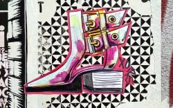 Shoefiti by Renee Snelson