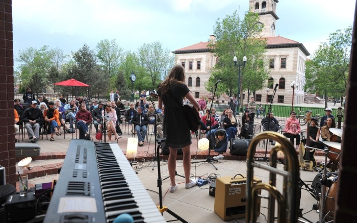 Miette Hope-Goldman performs