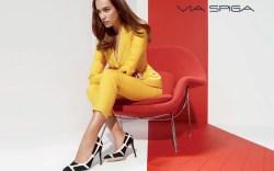 Irina Shayk for Via Spiga