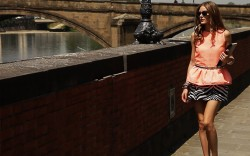 Olivia Palermo for Aquazzura