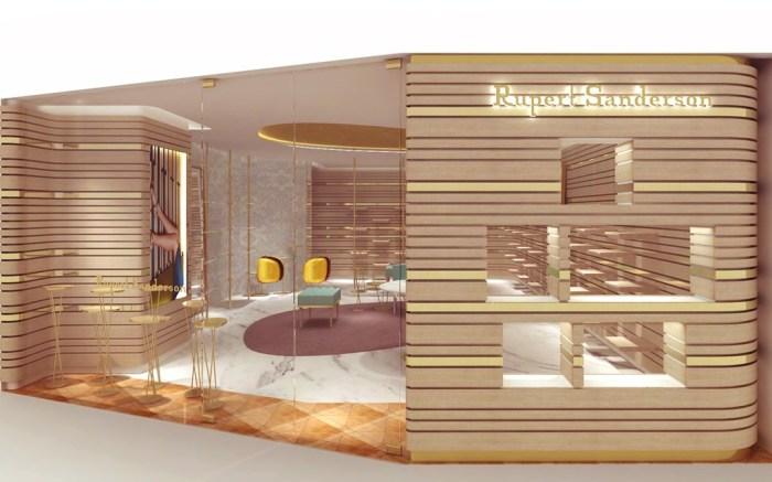 Rupert Sandersons new Harbour City store