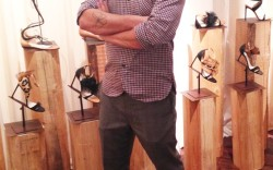 Francesco Russo in his Paris atelier