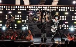 KISS performs at Fashion Rocks 2014