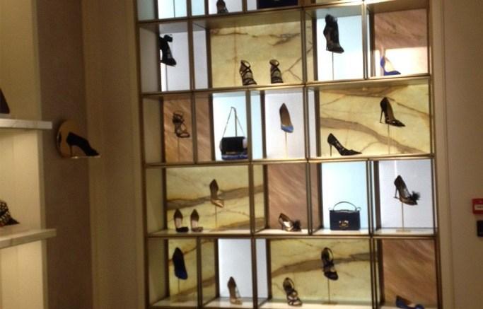 Inside Jimmy Choos renovated New Bond Street store