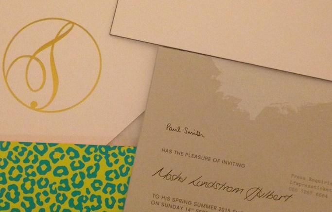 LFW invitations