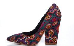 Jerome C Rousseaus embroidered canvas block-heel pump resort 15