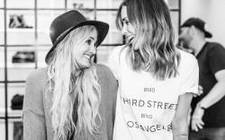 Ashlee Simpson and Anine Bing