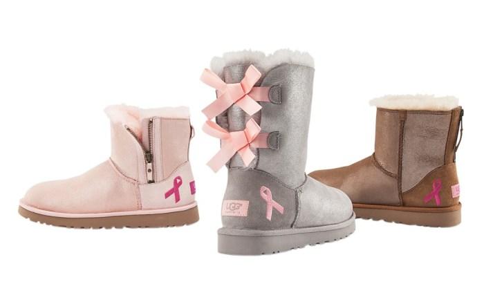 Footwear News FN Footwear Ugg Australia Susan G Komen