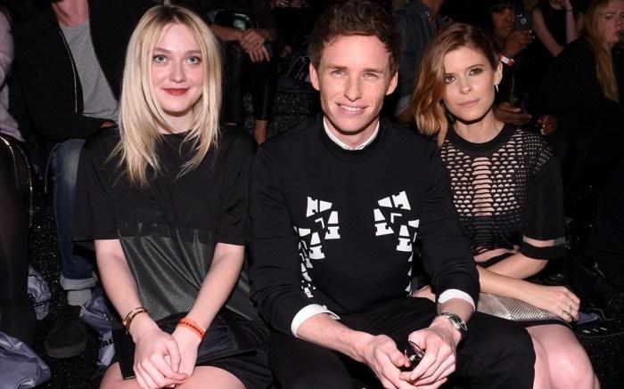Dakota Fanning Eddie Redmayne and Kate Mara