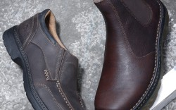 From left TIMBERLAND PRO DR MARTENS UTILITY