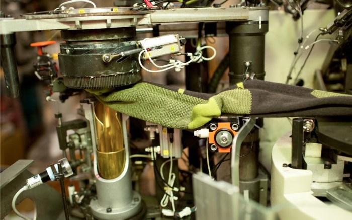 The Nester Hosiery Knitting Factory in North Carolina
