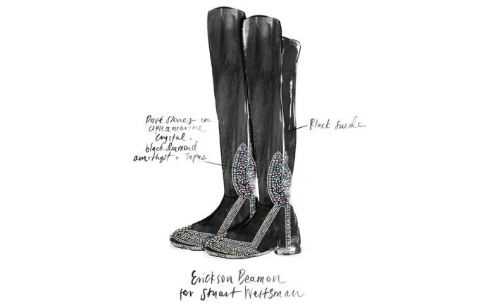 FN Footwear Footwear News Erickson Beamon
