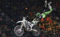 Favorite spectator sport&#8220I love watching Supercross because those guys are the toughest athletes in the world&#8221