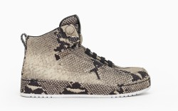 A snakeskin-print high-top from 31 Phillip Lim to be available at On Pedder