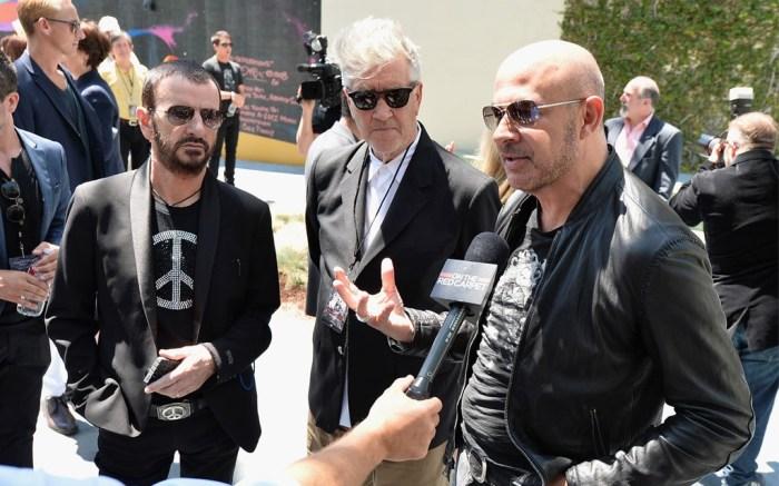 Ringo Starr David Lynch and John Varvatos