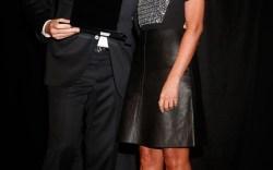 Gianvito Rossi and Nina Garcia