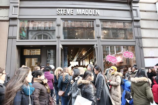 Steve Madden Soho Store