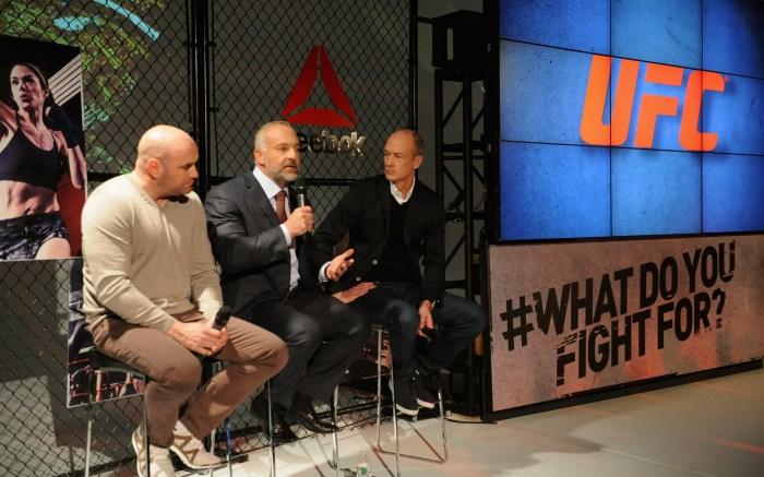 Reebok, UFC Deal