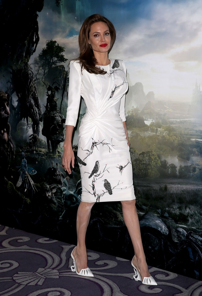 Angelina Jolie Craziest Celebrity Red Carpet Shoes