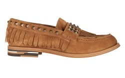 Daniele Michetti's fringed and studded loafer.