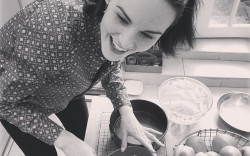 Michelle Dockery Bakes on Instagram