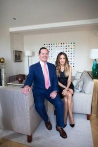 George Malkemus and Sarah Jessica Parker