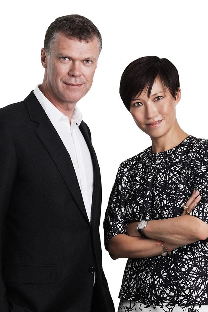 Jimmy Choo's Pierre Denis and Sandra Choi