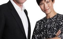 Jimmy Choo's Pierre Denis and Sandra