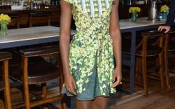 Lupita Nyong'o in Paul Andrew in