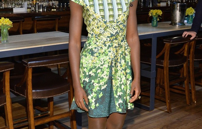 Lupita Nyong'o in Paul Andrew in New York