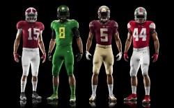 Nike college football uniforms
