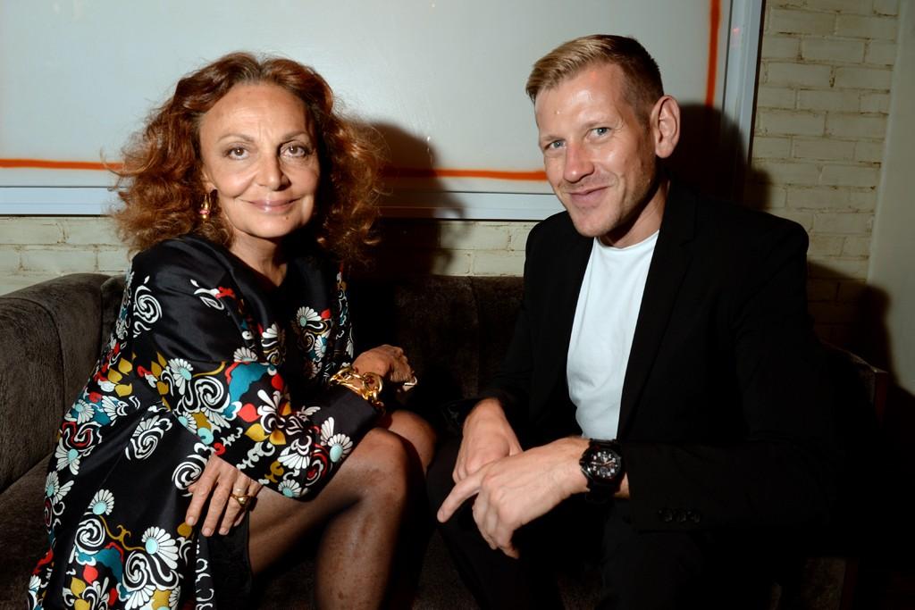 Paul Andrew and Diane von Furstenberg
