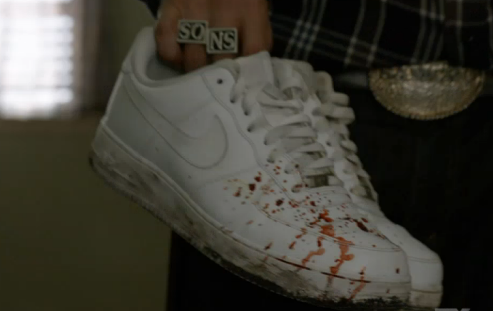 Sons of Anarchy Series Finale Nike Sneakers