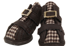 Houndstooth Dog Shoes by Puppia