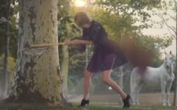"Taylor Swift wearing Bionda Castana's Karlie boots in ""Black Space"""