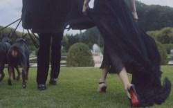 "Taylor Swift wearing Christian Louboutin in ""Black Space"""