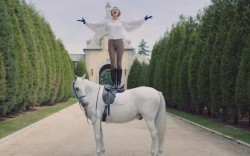 """Taylor Swift in riding boots in """"Black Space"""""""