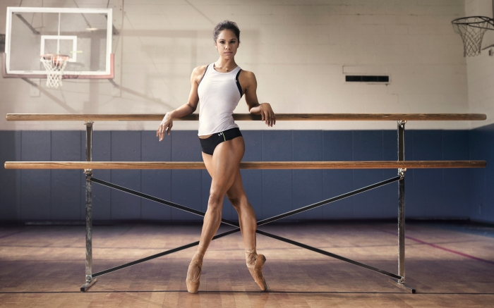 Misty Copeland in the Under Armour Women's ad 2014