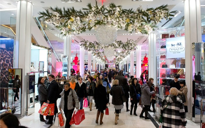Holiday shoppers 2014