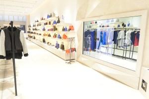 Inside the Rebecca Minkoff New York store.
