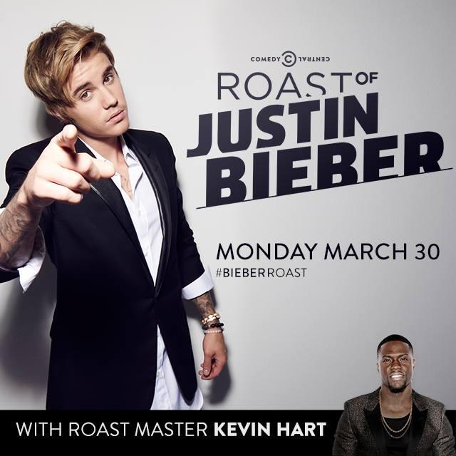 Justin Bieber Comedy Central Roast
