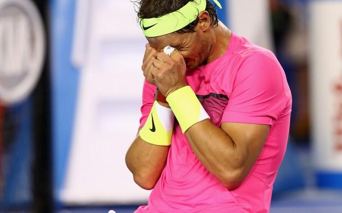 Rafael Nadal at the 2015 Australian Open