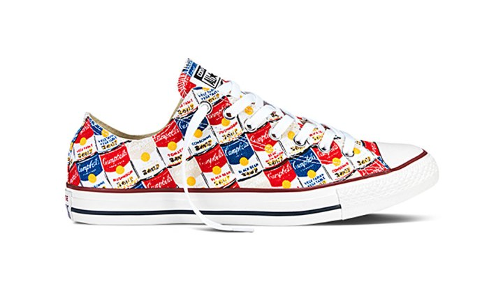 Andy Warhol All Star collection from Converse