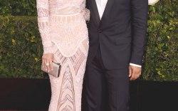 Golden Globes: Golden Globes: Chrissy Teigen and John Legend