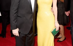 Golden Globes: Leslie Mann and Judd Apatow