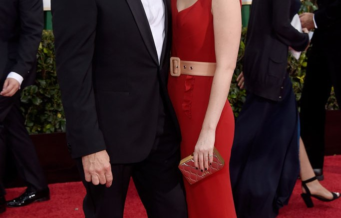 Golden Globes Kevin Spacey and Kate Mara