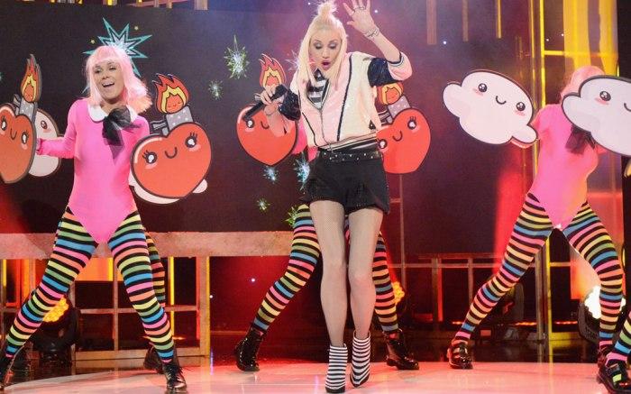 Gwen Stefani Solo Tour Footwear