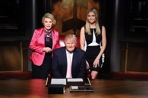 Joan Rivers and the Trumps