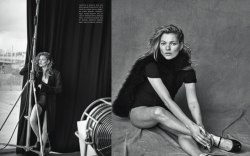 Kate Moss for Italian Vogue
