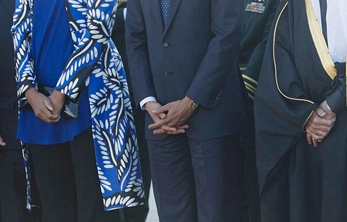 Michelle Obama Saudi Arabia